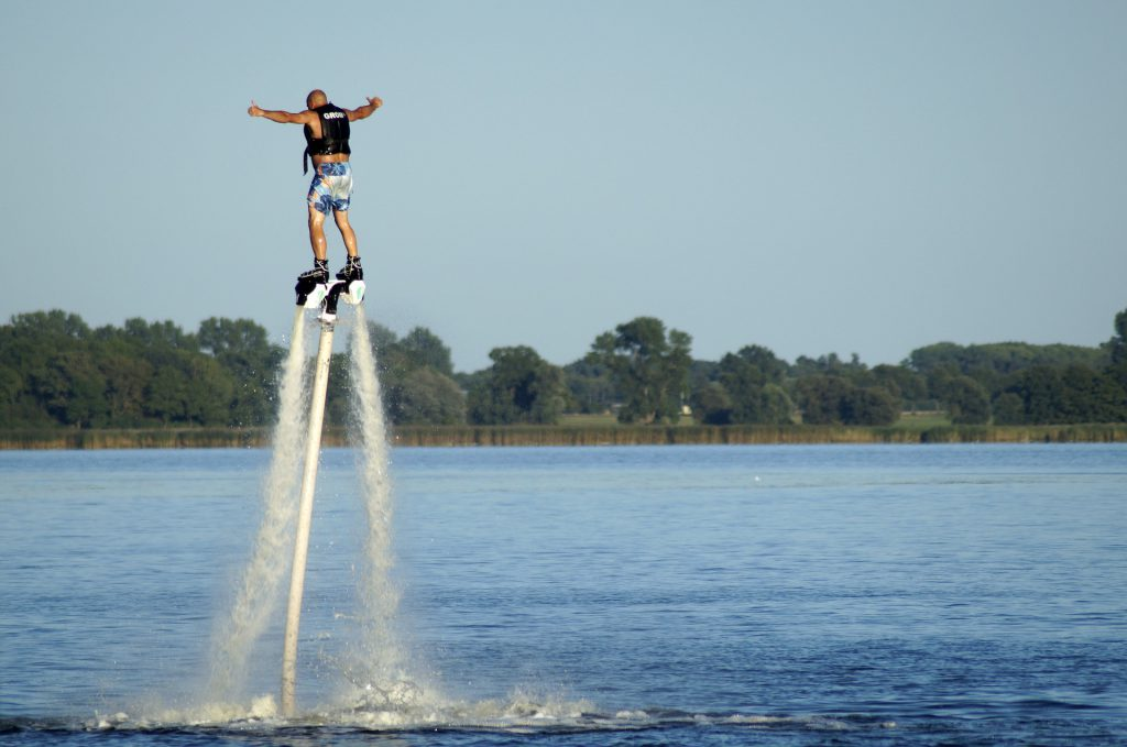 Flyboard Papy Bali Cap d'Agde